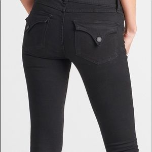 Hudson Collin Flap Skinny Jean.  Black.  Style #NW